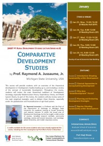 Poster_COMPARATIVE DEVELOPMENT STUDIES